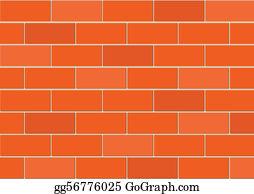 Brick Wall Clip Art - Royalty Free - GoGraph