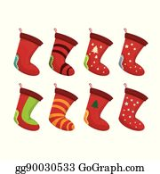 Christmas Stockings Cartoon.Christmas Stocking Clip Art Royalty Free Gograph
