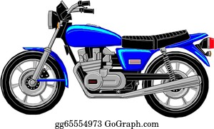 Cartoon Motorcycle Clip Art Royalty Free Gograph