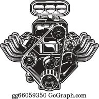 Engine Clip Art Royalty Free Gograph