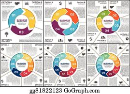 vector art vector circle infographics template for cycle diagram