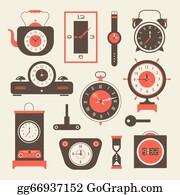 Analog Clock Clip Art - Royalty Free - GoGraph
