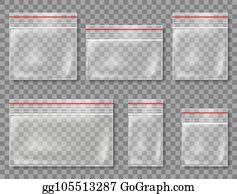 Plastic Bags Clip Art - Royalty Free - GoGraph