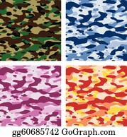 Free Camouflage Clipart in AI, SVG, EPS or PSD