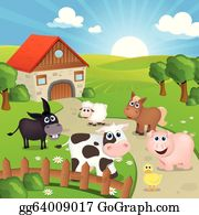 Farm Animal Clip Art - Royalty Free - GoGraph