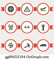 Royalty Free Radio Tower Vectors - GoGraph