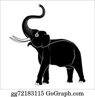 Thai Elephant Clip Art - Royalty Free - GoGraph