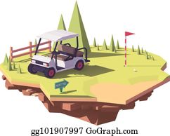 Teeing Ground Clip Art - Royalty Free - GoGraph