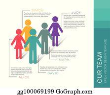 Meet Our Team Clip Art - Royalty Free - GoGraph