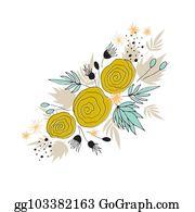 Floral Arrangement Clip Art Royalty Free Gograph