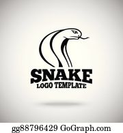 eps illustration vector snake logo template for sport teams