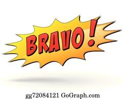 Bravo Clip Art - Royalty Free - GoGraph