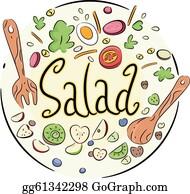 Vegetable Salad Clip Art Royalty Free Gograph