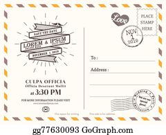 postcard background template