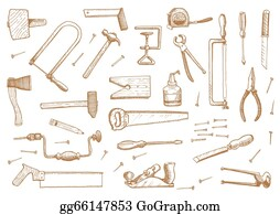 Carpentry Tools Clip Art Royalty Free Gograph