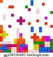 Lego Red Plastic Building Block Clip Art - Royalty Free - GoGraph