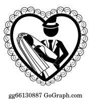 Vector Art Funny Wedding Game Over Eps Clipart Gg91680407 Gograph