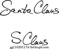 Free Santa Signature Cliparts, Download Free Clip Art, Free Clip Art on  Clipart Library