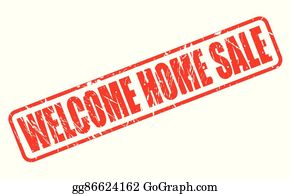 Welcome Home Clip Art - Royalty Free - GoGraph