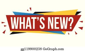 Whats New Clip Art - Royalty Free - GoGraph