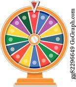 spin wheel clip art royalty free gograph