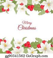 Christmas Clip Art Flower Rose