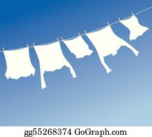 Laundry Clip Art - Royalty Free - GoGraph