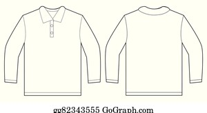 8450537a31fa Long Sleeve Clip Art - Royalty Free - GoGraph