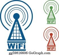 Radio Tower Clip Art - Royalty Free - GoGraph