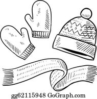 Winter Clothing Clip Art - Royalty Free - GoGraph