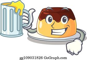 Salted Caramel Sauce Clip Art Royalty Free Gograph
