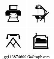 Sawmill Clip Art - Royalty Free - GoGraph