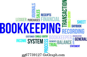 Bookkeeping Clip Art - Royalty Free - GoGraph