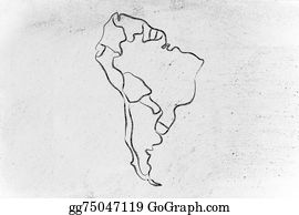 Drawing world map and continents borders and states of australia world map and continents borders and states of south america gumiabroncs Choice Image